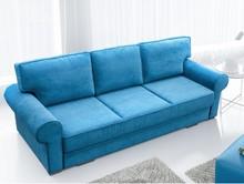 Sofa Bukiet w angielskim stylu posiada pojemnik na pościel oraz funkcję spania o wymiarze 200x147. Szeroki wybór tkanin umożliwia dopasowanie sofy do...