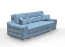Sofa Cypis   Funkcje: - sofa wykonana na sprężynach falistych oraz bonell - funkcja spania - pojemnik na pościel - do sofy dołączone dwie poduszki...
