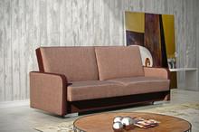 Wersalka Columbus   SPECYFIKACJA: > konstrukcja - płyta wiórowa, drewno > wysokiej jakości pianka tapicerska, materiały usztywniające >...