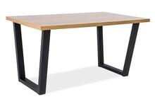 Stół VALENTINO 150x90 - lity dąb