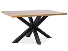 Stół Cross dostępny jest w dwóch rozmiarach, dzięki czemu zdecydowanie łatwiej dopasować go do wybranego pomieszczenia. To mebel bardzo ciekawy,...