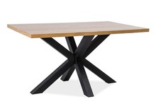 Stół CROSS 180x90 - lite drewno