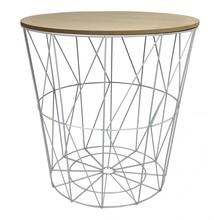 Dixi łączy w sobie funkcje stolika i miejsca do magazynowania drobiazgów. Wygląda bardzo efektownie i jest wspaniałym dodatkiem, który...