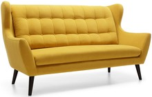 Sofa Henry jest meblem pięknym, szlachetnym, niesamowicie eleganckim. W każdej aranżacji, w jakiej tylko się znajdzie, będzie wyjątkowa i efektowna....