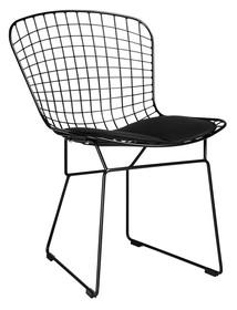 Krzesło NET SOFT - czarny