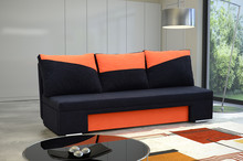 Kanapa Roswell   SPECYFIKACJA: > konstrukcja - płyta wiórowa, drewno > wysokiej jakości pianka tapicerska, materiały usztywniające > funkcja...