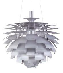 Lampa wykonana została z aluminium lakierowanego na szaro.<br />Długość z kablem: 165 cm<br />Źródło światła: E 27 max 60 W<br...