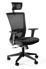 Fotel biurowy ERGONIC - czarny