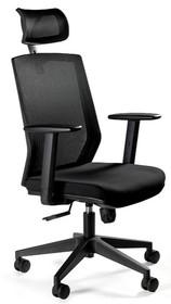 Fotel biurowy ESTA - czarny