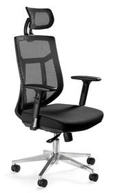 Obrotowy fotel biurowy VISTA - czarny