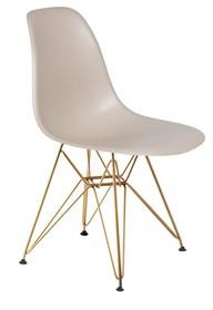 Krzesło DSR GOLD - beżowy