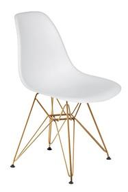 Krzesło DSR GOLD - biały