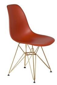 Krzesło DSR GOLD - ceglasty