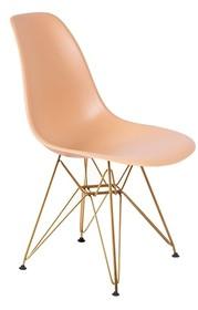 Krzesło DSR GOLD - ciepły kremowy