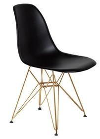 Krzesło DSR GOLD - czarny