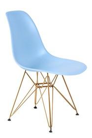 Krzesło DSR GOLD - jasny niebieski