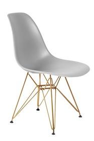 Krzesło DSR GOLD - jasny szary