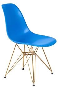 Krzesło DSR GOLD - niebieski