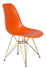 Krzesło DSR GOLD - sycylijska pomarańcz