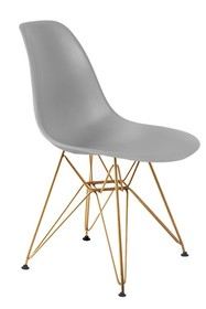 Krzesło DSR GOLD - szary