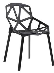Krzesło SPLIT MAT - czarny
