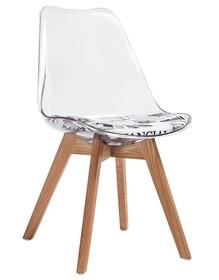 Krzesło NORDIC CLEAR - transparentny