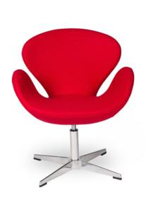 Fotel SWAN UP - czerwony