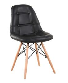 Krzesło EKOS WOOD - czarny