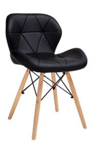 Krzesło KLIPP - czarny