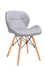 Krzesło KLIPP - szary