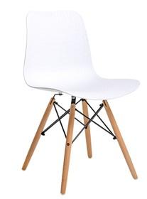 Krzesło KRADO WOOD - biały