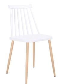 Krzesło RIBS - biały