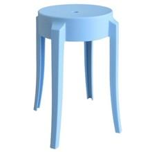 Stołek CALMAR 46 marki MODESTO DESIGN.<br />Stołek w całości wykonany jest z polipropylenu w kolorze niebieskim matowym.<br />Waga netto 1...