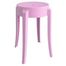 Stołek CALMAR 46 marki MODESTO DESIGN.<br />Stołek w całości wykonany jest z polipropylenu w kolorze różowym matowym.<br />Waga netto 1...
