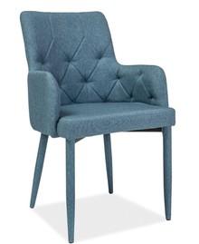 Tapicerowane krzesło Ricardo jest świetnym rozwiązaniem dla wszystkich, którzy lubią nowoczesne wnętrza. Krzesło to będzie pasowało zarówno do...