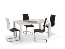 Stół rozkładany RONALD 140x80 - biały