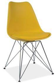 Krzesło TIM żółty