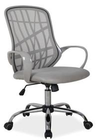Fotel Dexter to wybór dla wszystkich, którzy szukają awangardowego obrotowego fotela do komputera. Tył fotela to paski z tworzywa sztucznego i przewiewna...