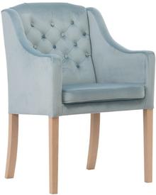 Fotel Marion to luksusowy mebel, posiadający pikowanie karo z guzikami na oparciu oraz wyprofilowane podłokietniki. Ma elegancki wygląd i należy do grupy...