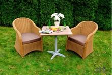 Zestaw mebli stołowych LENTO  Wykonany z wysokiej jakości technorattanu, co gwarantuje trwałość, wytrzymałość mechaniczną oraz wysoką odporność...