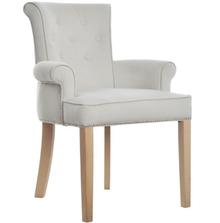 Fotel Largo to bardzo elegancki mebel. Posiada charakterystyczne oparcie, ozdobione guzikami i wykończone delikatnym wałkiem. Wokół oparcia,...