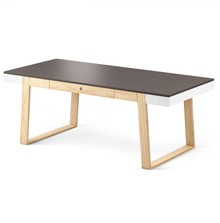 Funkcjonalny stół', pasuje zarówno do szybkiego posiłku, jak i obiadu na 8 osób. Posiada otwierane boczne skrzydła i dodatkowe miejsce do...