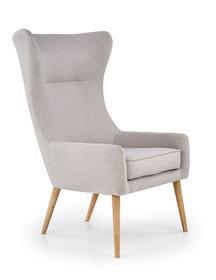 Fotel FAVARO 2 - tkanina jasny popiel