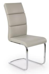 K-230 krzesło jasny popiel