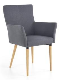 K274 krzesło ciemny popiel (1p=2szt)