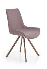 Krzesło K290 - popielaty/złoty antyczny