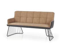 Sofa L-1 - jasny brąz