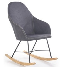 Fotel bujany LAGOS - popiel