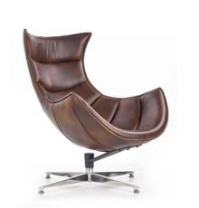 Fotel LUXOR - brązowy