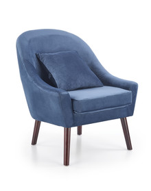 Fotel OPALE - niebieski